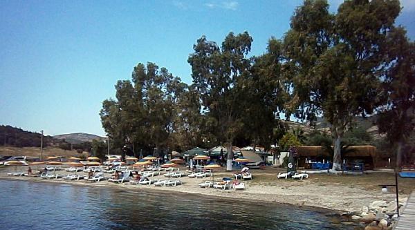 Foça Plajlarına 9 Mavi Bayrak