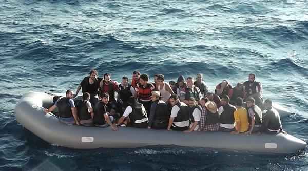 Foça'da 41 Suriyeli