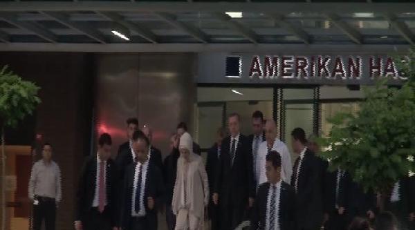 (fotoğraf) Başbakan Erdoğan'dan Kenan Işik Ve Süleyman Seba'ya Ziyaret
