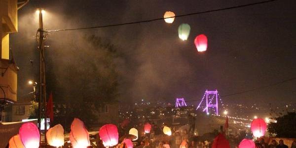 (Fotoğraf) Ferit Için Dilek Balonu Uçurdular