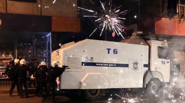 (fotoğraf)  Okmeydanı'nda Polis Müdahalesi