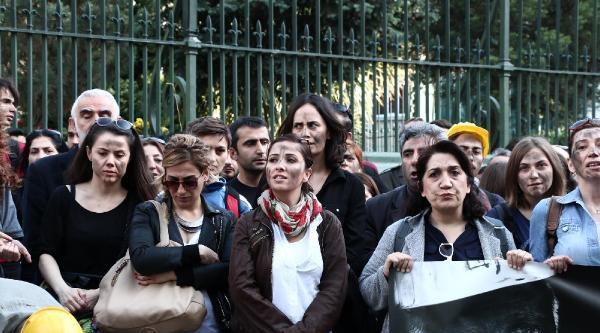 (fotoğraf) Sanat Meclisi'nden Soma İçin Eylem