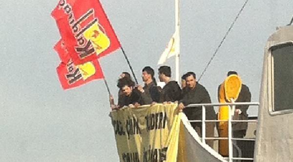 (fotoğraf) Taksim'deki Eyleme Gittiler