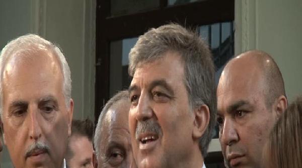 Fotoğraflar (1) - Cumhurbaşkanı Gül: Türkiye'ye Yakışır Bir Seçim Süreci Yaşayalım