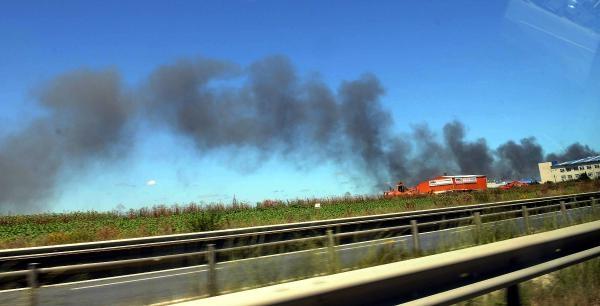 Fotoğraflar (1)  -  Hadımköy'de Yangın