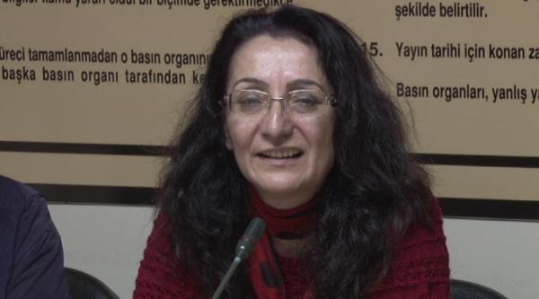 Fotoğraflar /// 8 Yıl Sonra Tahliye Olan Gazeteci Füsun Erdoğan, Basın Konseyi'ni Ziyaret Etti