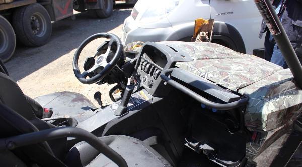 Fotoğraflar /// Alp Ali Şen'in Öldüğü Kaza / Utv Kazada Bu Hale Geldi