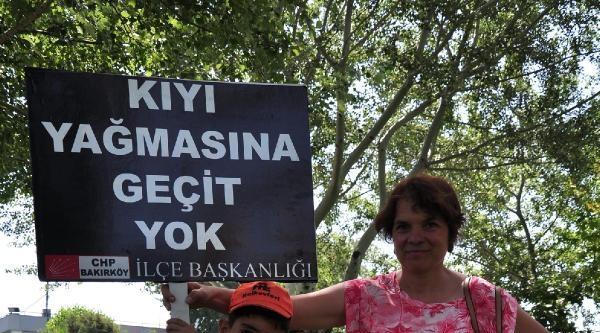 Fotoğraflar - Ataköy Sahilinde Yapımı Süren İnşaatlar Mühürlendi