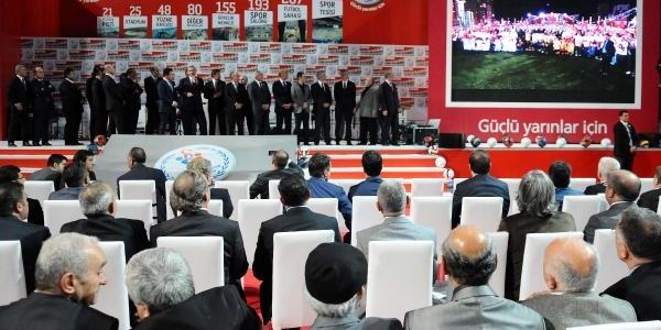 Fotoğraflar// Başbakan Erdoğan, 213 Spor Tesisinin Toplu Açiliş Ve Amatör Kulüplere Malzeme Dağitim Törenine Katildi.
