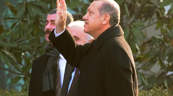 Fotoğraflar /// Başbakan Erdoğan, Istanbul Il Başkanliği'na Geldi