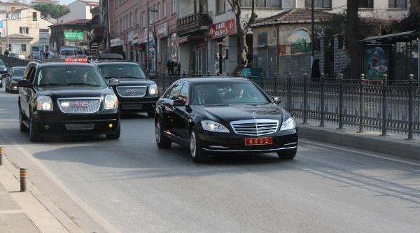 Fotoğraflar / Başbakan Erdoğan, Oğlu Bilal Erdoğan Ile Birlikte Kisikli'daki Evine Geldi
