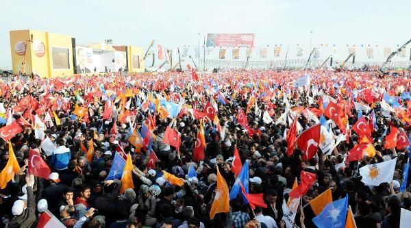 Fotoğraflar// Başbakan Erdoğan, Yeniden Milli İrade Mitingi'nde Konuştu