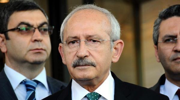 Fotoğraflar /// Chp Lideri Kılıçdaroğlu,toplantı Sonunda Gazetecilerin Sorularını Yanıtladı