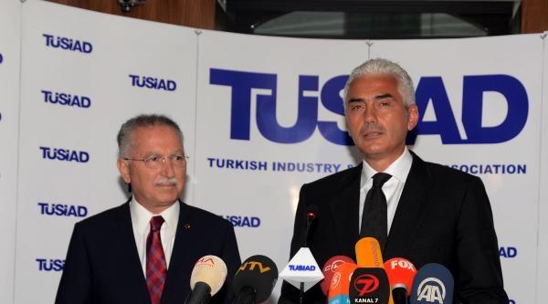 Fotoğraflar -  Cumhurbaşkanı Adayı Ekmeleddin İhsanoğlu Tüsiad'ı Ziyaret Etti