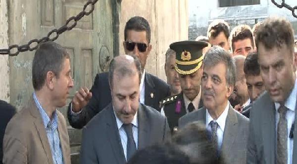 Fotoğraflar - Cumhurbaşkanı Gül'den Bayram Namazı Sonrası Açıklama