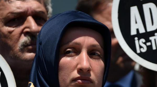 Fotoğraflar -  Davutpaşa Davası'nda Duruşma Arasında Aileler Basın Açıklaması Yaptı