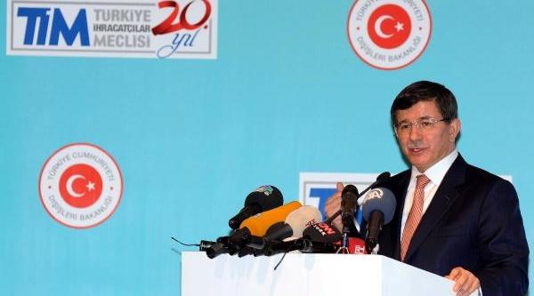 Fotoğraflar// Dişişleri Bakani Davutoğlu, Tim Genişletilmiş Başkanlar Kurulu Toplantisi'nda Konuştu