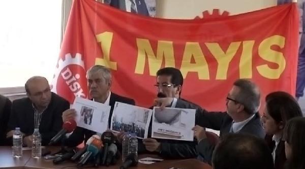 Fotoğraflar / Disk Başkanı Kani Beko: Sivil Polisler Eylemcilerin Arasında Karıştı
