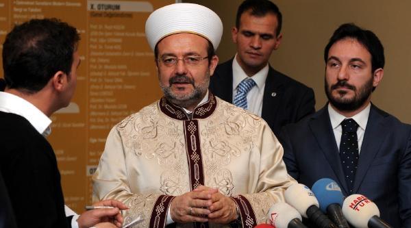 Fotoğraflar// Diyanet Işleri Başkani Mehmet Görmez 6. Dini Yayinlar Kongresine Katildi