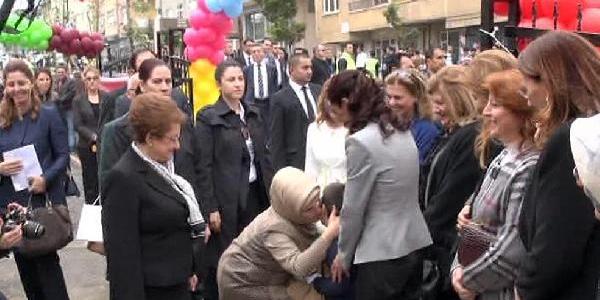 Fotoğraflar  -  Emine Erdoğan Ümraniye'de Anaokulu Açti
