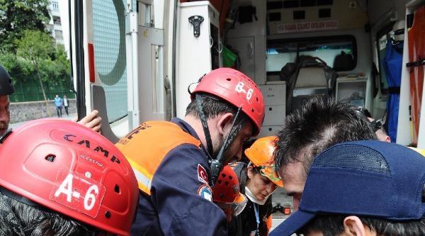 Fotoğraflar// Epa Fotomuhabiri Sedat Suna Bacağından Yaralandı