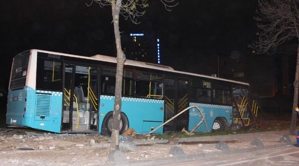 Freni Patlayan Otobüs Dehşet Saçtı: 1 Ölü