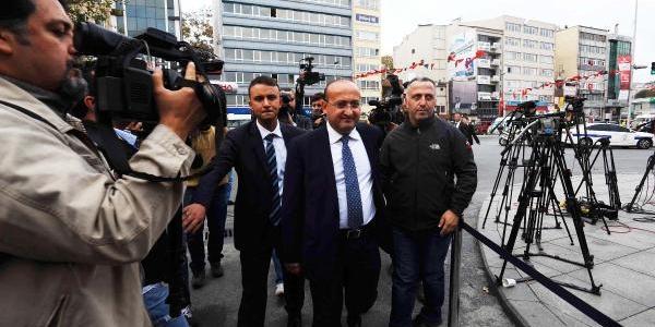 Fotoğraflar// Ikby Başbakani Neçirvan Barzani Dolmabahçe'deki Çalişma Ofisine Geldi