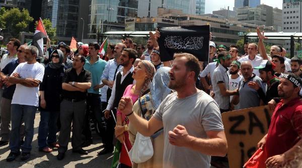 Fotoğraflar /// İsrail Konsolosluğu Önünde Protesto