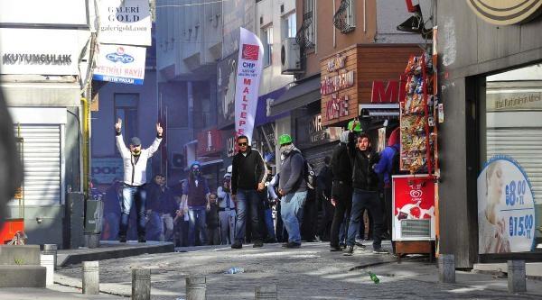 Fotoğraflar /// İstanbul'da 1 Mayıs -- Beşiktaş'ta Müdahale