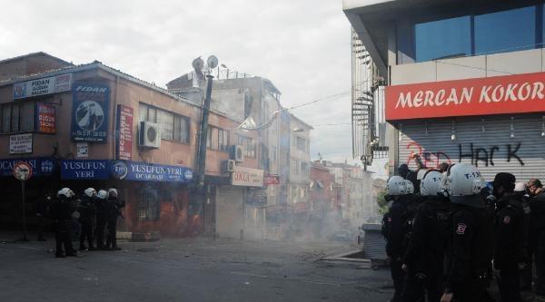 Fotoğraflar - İstanbul'da 1 Mayıs; Okmeydanı'nda Polis Müdahalesi