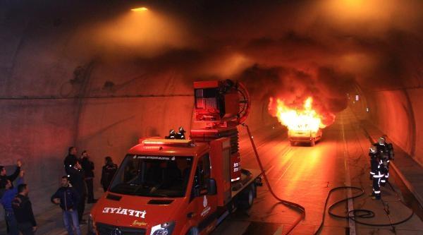 Fotoğraflar  // Kağıthane-beşiktaş Tünelinde Yangın Tatbikatı