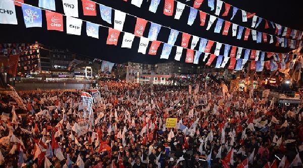 Kılıçdaroğlu Kartal Ve Çekmeköy'de Konuştu