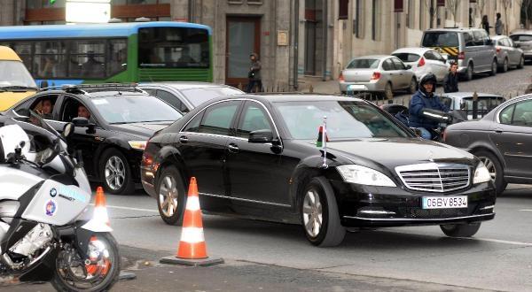 Fotoğraflar// Libya Başbakani Ali Zidan, Dolmabahçe'deki Çalişma Ofisine Geldi