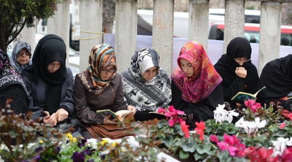Fotoğraflar / Merhum Başbakanlardan Necmettin Erbakan Mezarı Başında Anıldı