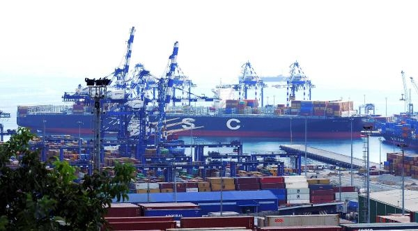 Fotoğraflar //'msc London' Adlı Konteyner Gemisi Ambarlı Limanı'nda