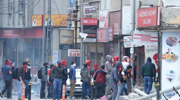 Fotoğraflar - Okmeydanı'nda Göstericilere Polis Müdahalesi