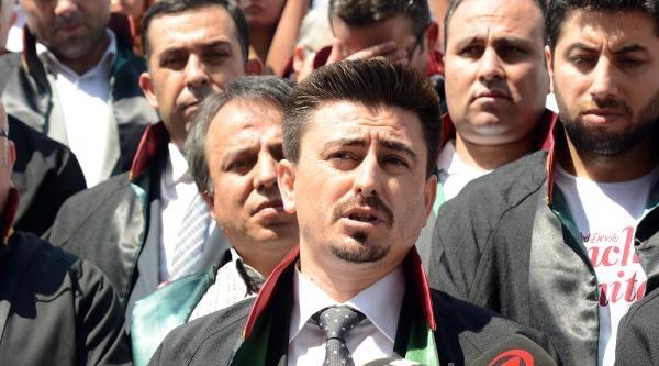 Fotoğraflar// Polis Avukatlarından Adliye Önünde Açıklama