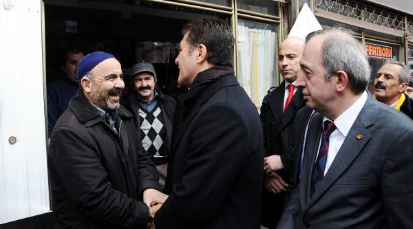 Fotoğraflar// Sarıgül, Beykoz Tokatköy'de Seçim Çalişmalarina Devam Etti