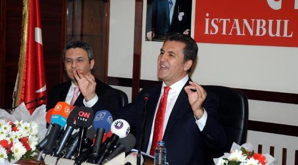 Fotoğraflar// Sarigül, Ibb Başkan Aday Adayliği Dilekçesini Chp'ye Verdi