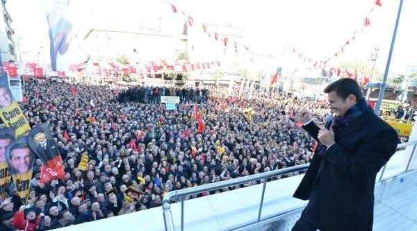 Fotoğraflar-  Sarigül, Zeytinburnu'nda Konustu