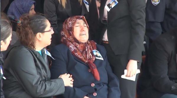 Fotoğraflar- Şehit Polis İçin Emniyette Tören Düzenlendi