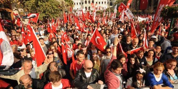 Fotoğraflar / Şişhane'de Cumhuriyet Yürüyüşü