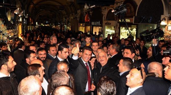 Fotoğraflar // Şişli Belediye Başkani Sarigül, Sahaflar Ve Kapaliçarşi Esnafini Ziyaret Etti