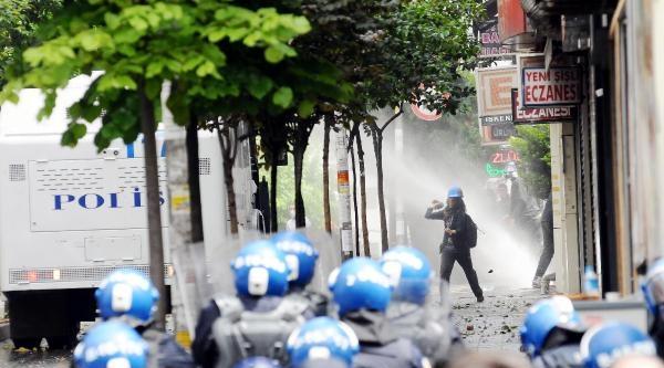 Fotoğraflar -  Şişli'de Polis Müdahalesi