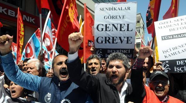 Fotoğraflar - Soma Faciasını Pprotesto Ettiler