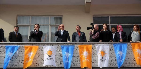 Fotoğraflar //topbaş, Balkondan Konuştu: 'genel Seçime İkaz Yapalım' Diyerek Kafa Karıştırıyorlar