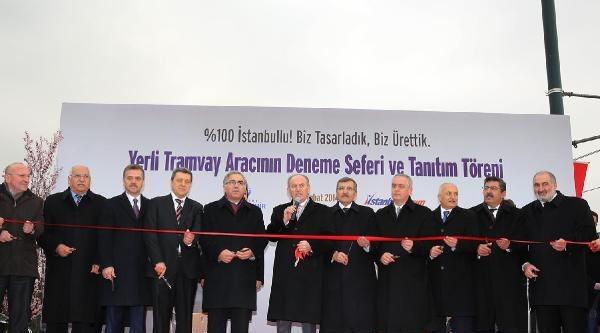 Fotoğraflar -  Topbaş, İstanbul'un İlk Yerli Üretim Tramvayını Tanıttı