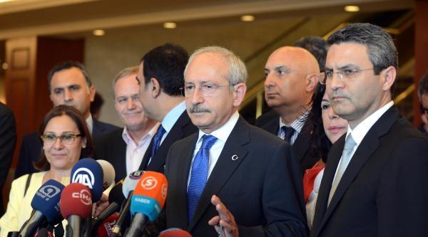 Fotoğraflar// Toplantı Sonrası Kılıçdaroğlu'ndan Açıklama