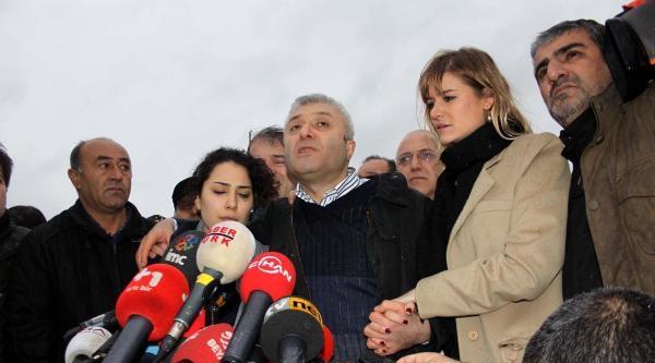 Fotoğraflar - Tuncay Özkan Cezaevinden Çikti, Açıklama Yaptı