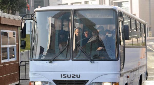 Fotoğraflar// Tutuklanan 16 Kişi Cezaevine Gönderildi